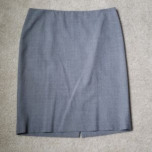 Theory wool pencil skirt in great condition